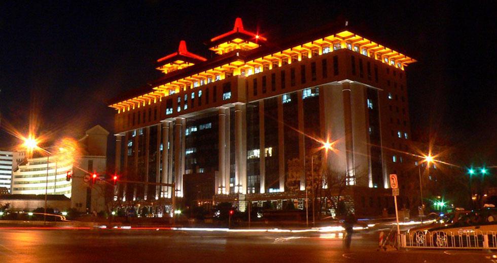 北京交通部办公大楼LED照明案例