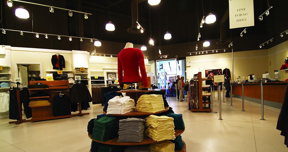 服装专卖店LED照明案例