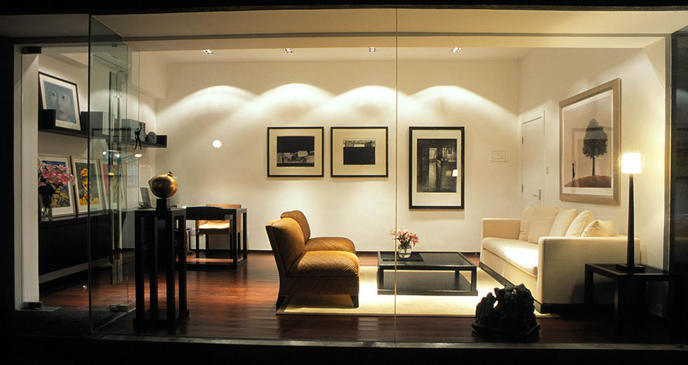 办公场所LED照明实景案例